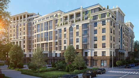 Жилой комплекс Grand Deluxe на Плющихе компании Дон-Строй Инвест