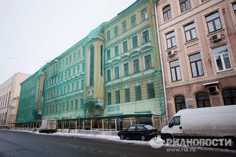 Садовническая улица, дом номер 9 в Москве