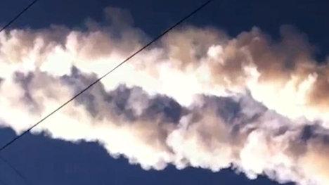 Метеорит пролетел над Челябинском