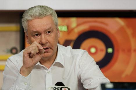 С.Собянин дал интервью радиостанции  Эхо Москвы