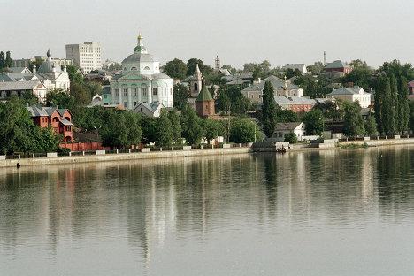 Набережная города Воронежа