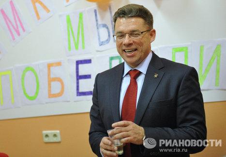 Мэр города Химки Олег Шахов
