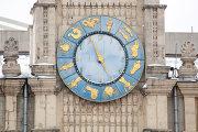 Часы на башне Казанского вокзала, Комсомольская площадь
