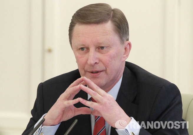Глава администрации президента РФ С.Иванов