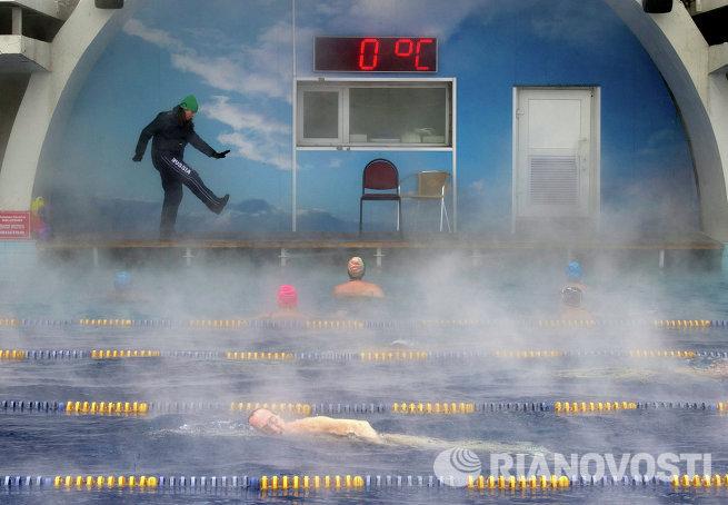 Открытый бассейн Чайка в Москве