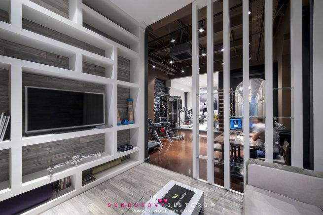 14 идей для небанальной системы хранения в гостиной