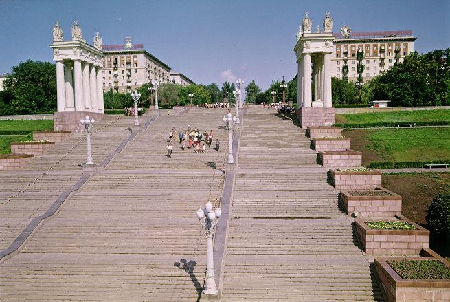 Лестница на Центральной набережной