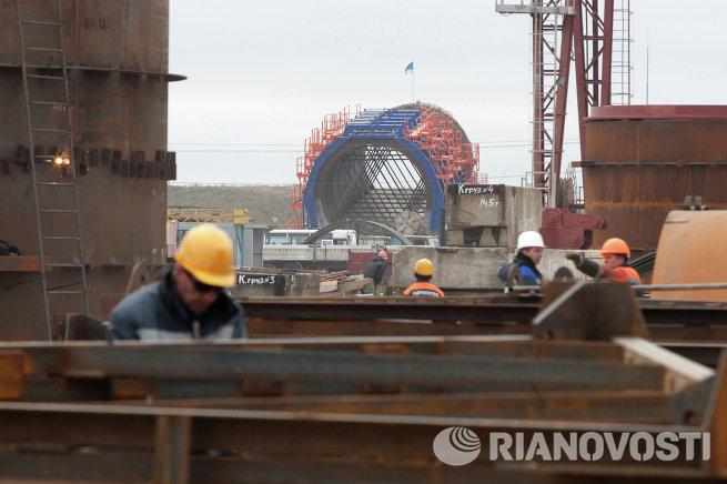 Строительство Загорской ГАЭС-2 в Московской области