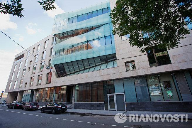 Дом Crystal House по адресу Коробейников переулок, 1 в Москве