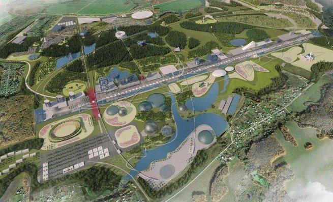 Проект парка Россия в Подмосковье компании Citymakers