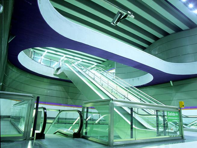 Проект метро, разработанный испанской компанией Bustren PM