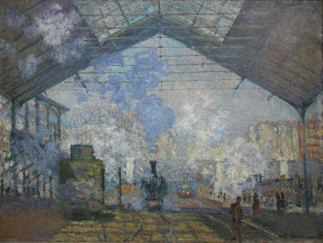 Вокзал Сен Лазар