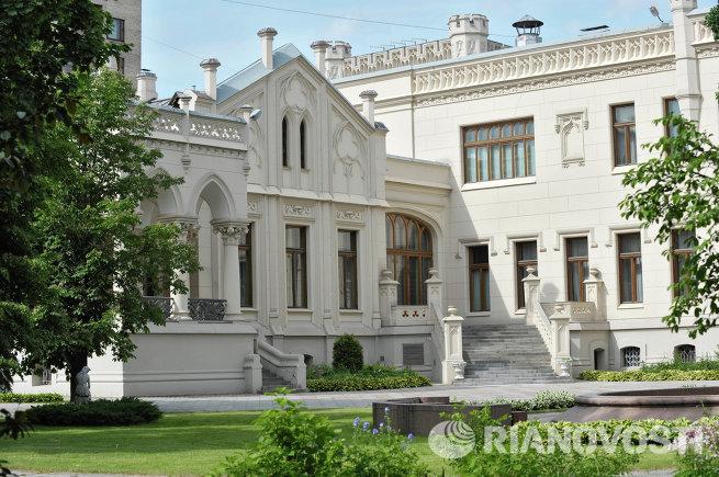 Здание приемной министерства иностранных дел РФ
