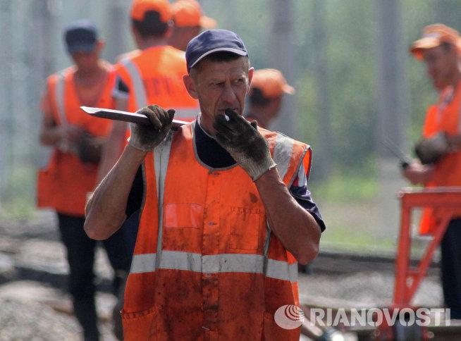 Ремонтные работы на Горьковском направлении МЖД
