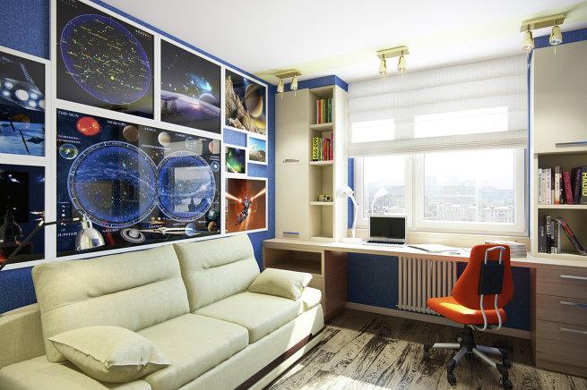 Как внести в интерьер квартиры элементы космического стиля