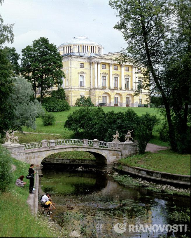 Большой дворец в Павловске