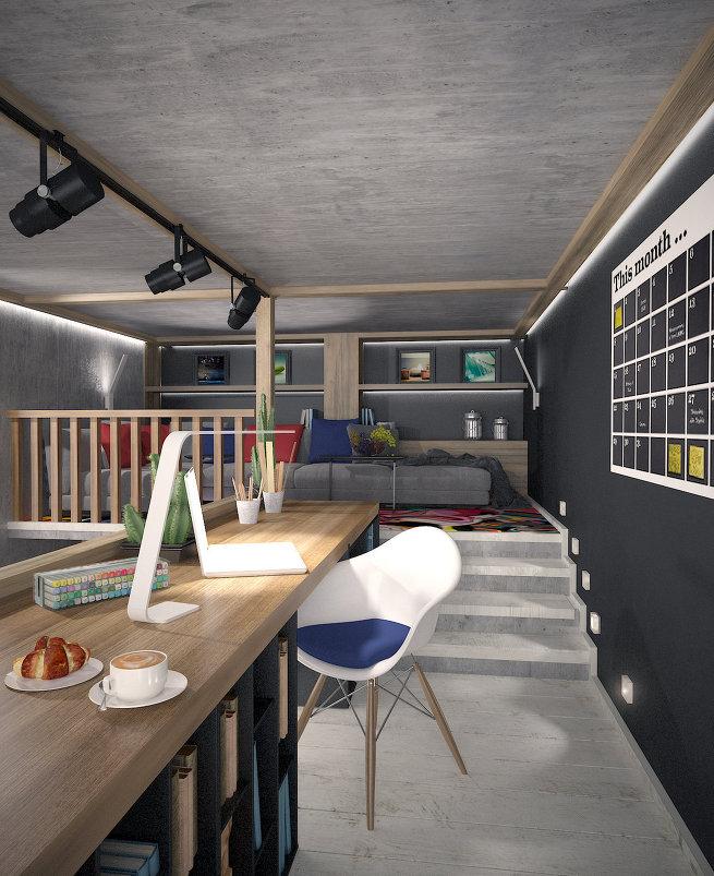 Мебель на развес: как правильно расположить подвесные полки в интерьере