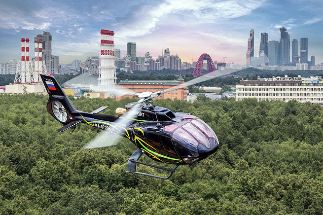 Концепция развития вертолетного мультицентра в Москве