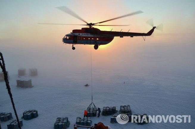 Полярники начали развертывать новую дрейфующую станцию СП-40