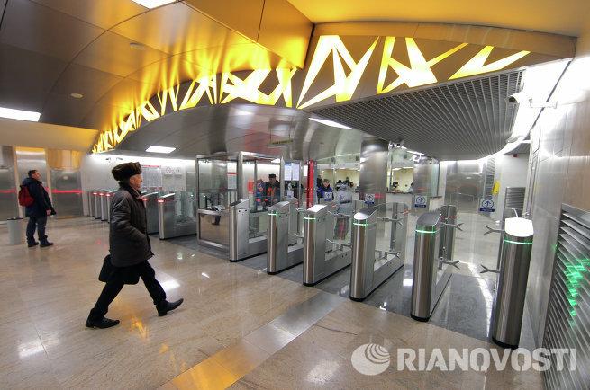 Новая станция Московского метрополитена Тропарево