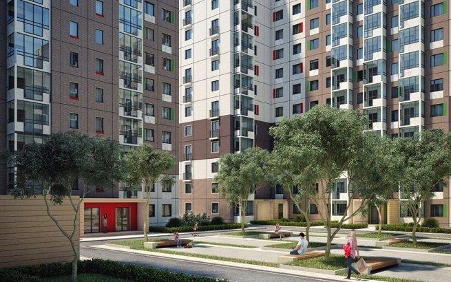 Проект типового жилья компании Интеко
