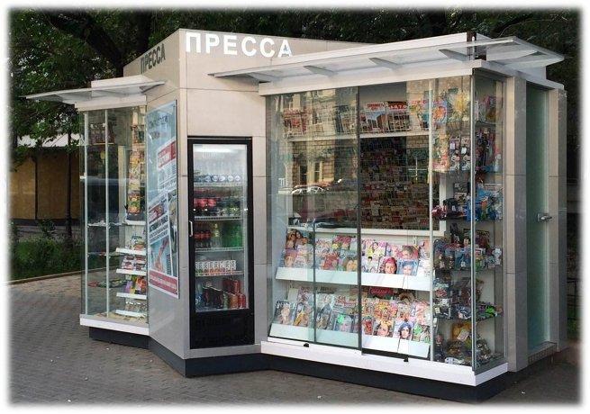 Ларьки по евростандарту: как будут выглядеть городские киоски в Москве