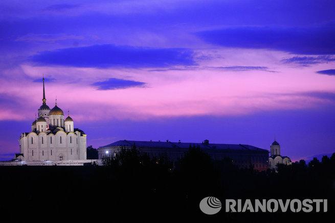 Успенский собор в городе Владимире