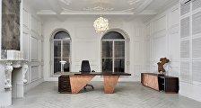 Кабинет руководителя: 8 уникальных мебельных коллекций от архитекторов
