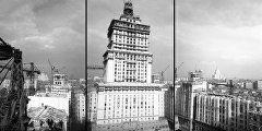 Строительство гостиницы Украина в Москве