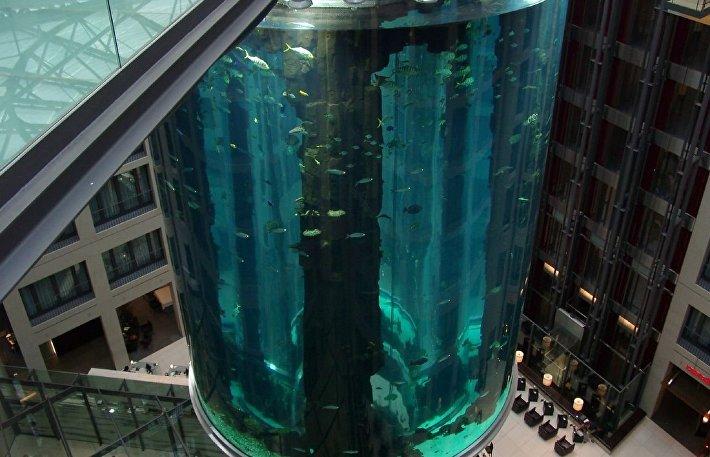 AquaDom в Берлине