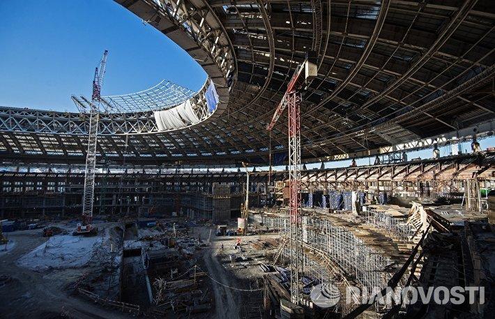 Реконструкция БСА Лужники