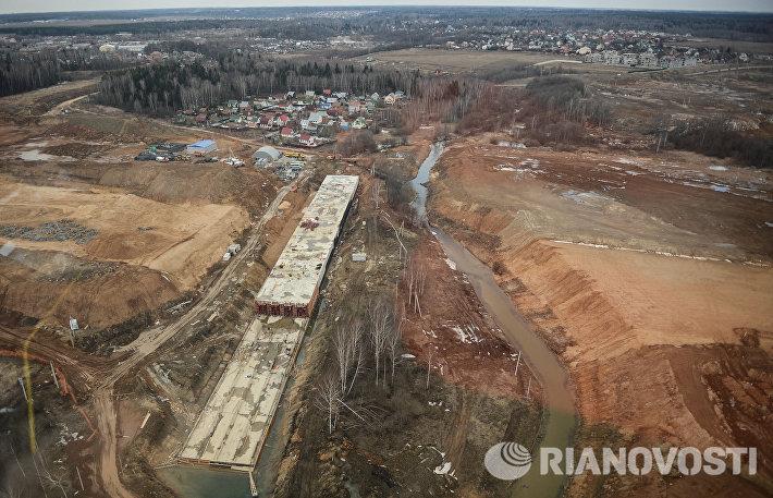 Подготовка к сносу терминала B московского аэропорта Шереметьево
