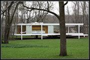 Стеклянный дом (Farnsworth House) Роэ
