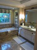 Ванная в отеле Беверли Хиллз