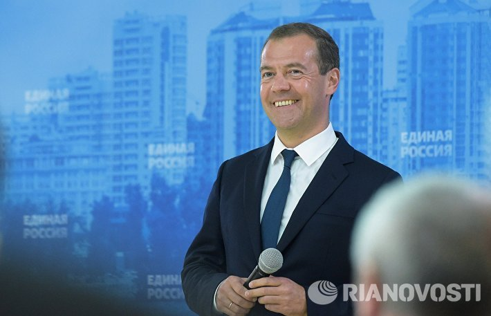 Рабочая поездка премьер-министра РФ Д.Медведева в Южный федеральный округ