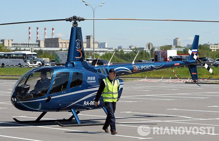 Прилет вертолетов для участия в выставке вертолетной индустрии HeliRussia 2015