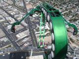 Аттракционы на крыше небоскреба Stratosphere в Лас-Вегасе