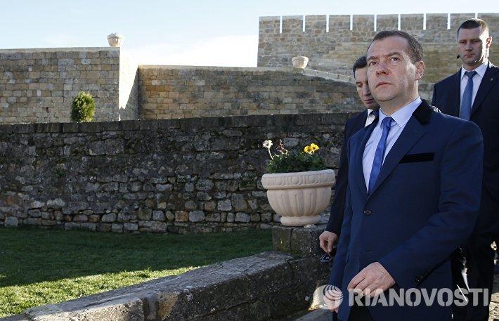 Рабочая поездка премьер-министра Д.Медведева в Северо-Кавказский округ