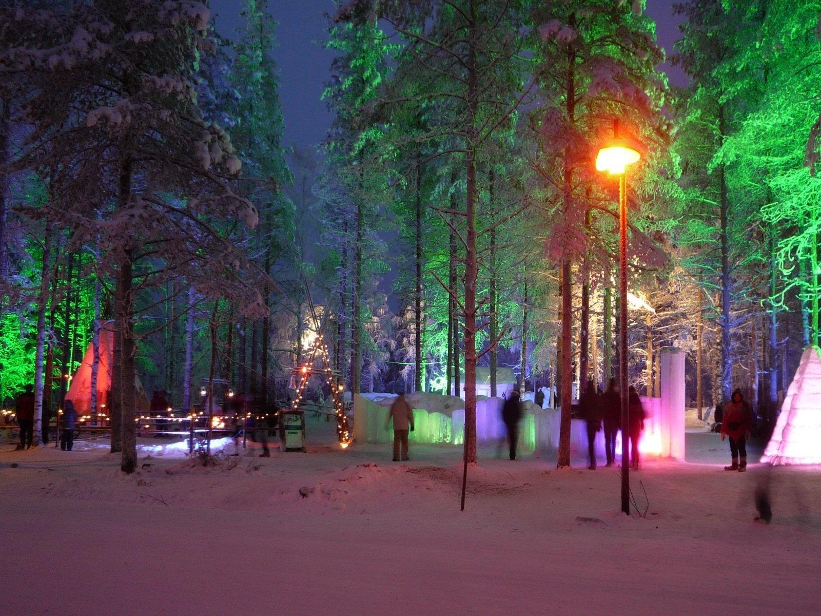 Деревня Санты Лапландия