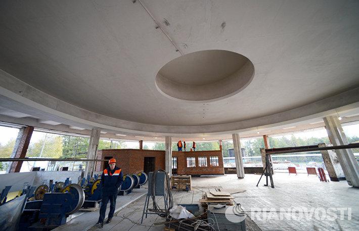 Реконструкция вестибюля станции метро Ботанический сад