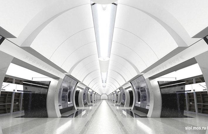 Проект станции Ходынское поле