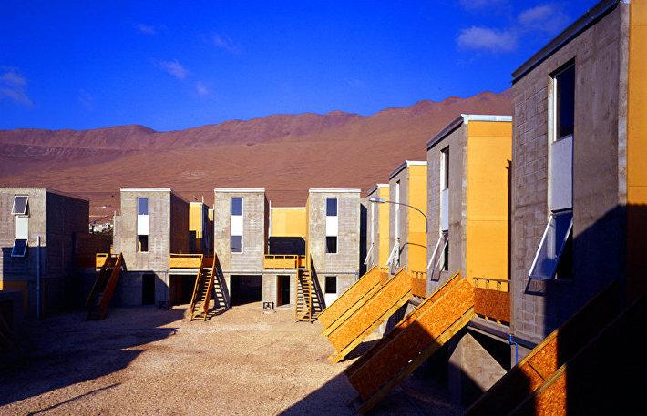 Дома Quinta Monroy, Икике, Чили, 2004