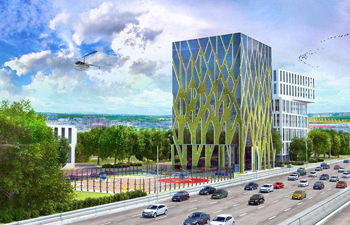 Проект штаб-квартиры НДВ