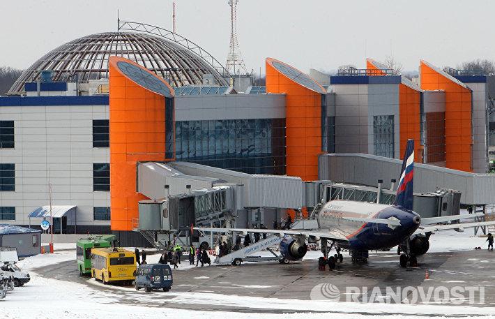 Современный диспетчерский центр аэропорта Храброво