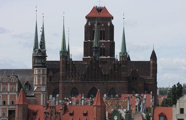 Базилика Успения Пресвятой Девы Марии в польском Гданьске