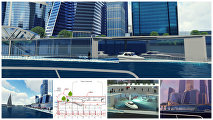 Какой может стать набережная ММДЦ Москва-Сити к 2019 году