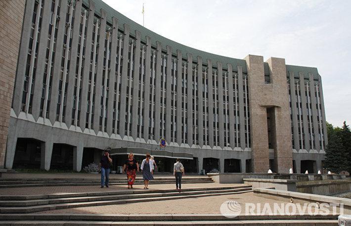 Здание городского совета Днепропетровска