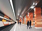 Проект станции Боровское шоссе