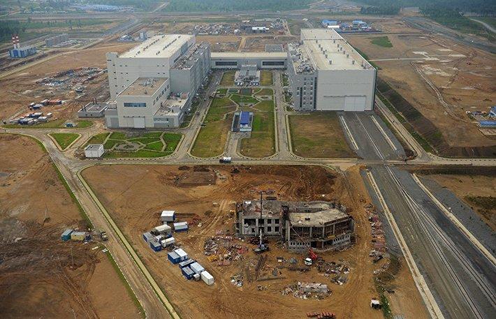 Технический комплекс космодрома Восточный в Амурской области