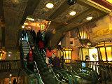 Эскалатор в универмаге Harrods